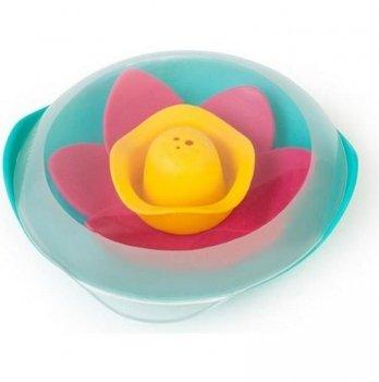 Игрушка для ванны и пляжа Quut, Цветок LILI, цвет зеленый + розовый + желтый