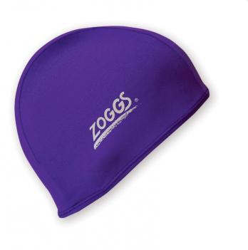 Шапочка для плавания Zoggs Stretch Cap, пурпурная