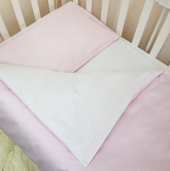 Комплект постельный Маленькая соня, сменный, универсальный, розовый