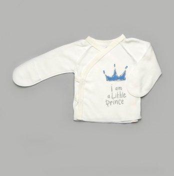 Распашонка для новорожденных Модный карапуз Короны Голубой 301-00042