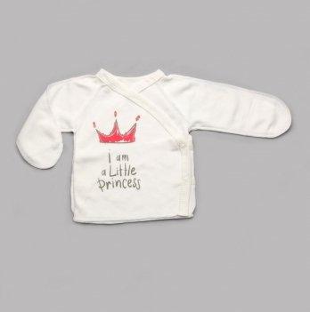 Распашонка для новорожденных Модный карапуз Короны Красный 301-00042