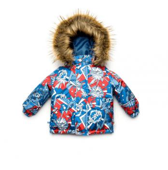 Куртка зимняя для мальчика Модный карапуз Boom!