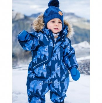 Детский комбинезон Reima Puhuri Reimatec Lappi, голубой