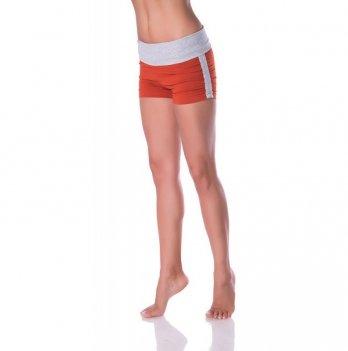 Спортивные шорты с широким отворотом Zen Wear Рио кирпичные