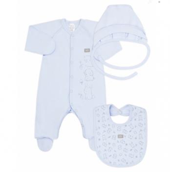 Комплект для новорожденного Smil Голубой 109972