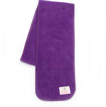 Шарф флисовый Модный карапуз, 165 см, сиреневый