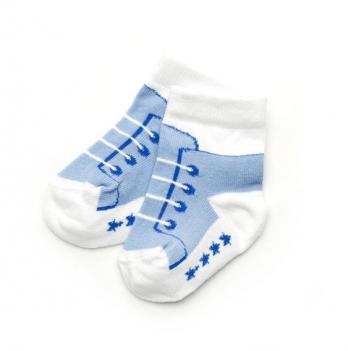 Носочки для новорожденного мальчика Модный карапуз, голубые