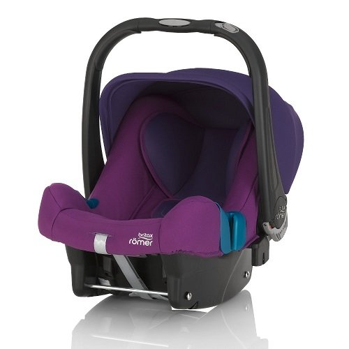 Автокресло BRITAX-ROMER BABY-SAFE PLUS SHR II Mineral Purple