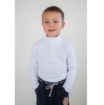 Гольф для мальчика Модный карапуз, белый