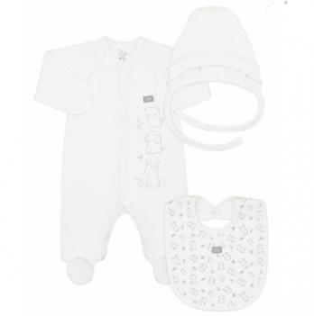 Комплект для новорожденного Smil Белый 109972