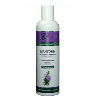 Натуральный шампунь для для жирных и склонных к выпадению волос Cryo Cosmetics, с экстрактом розмарина