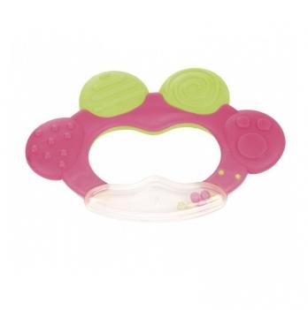 Погремушка с прорезывателем Canpol babies Жабка розовый