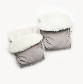 Муфта для рук на коляску Модний карапуз 03-00683 Серый