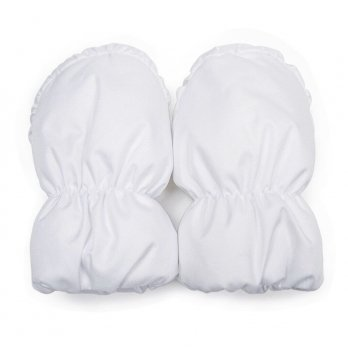 Детские рукавички ДоРечі Белый 1909