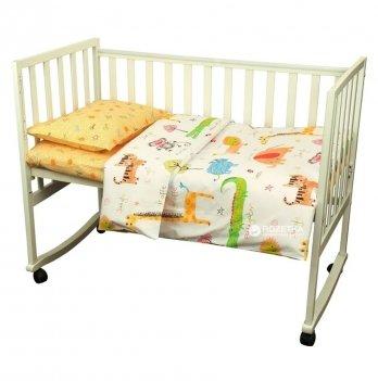 Комплект постельного белья в детскую кроватку Руно 932.137 Jungle 3 предмета