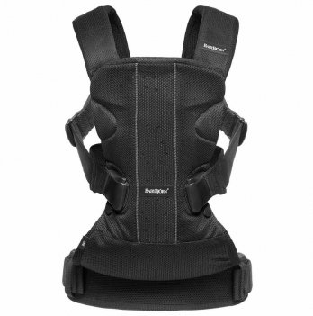 Рюкзак Baby Bjorn Baby Carrier One Black, Mesh (от 0 до 3 лет)