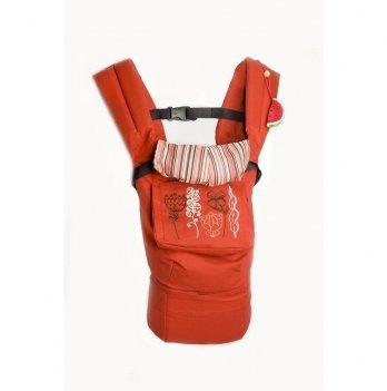 Эргономичный рюкзак Модный карапуз My baby Красный 03-00345