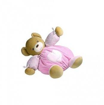 Мягкая игрушка Kaloo Мишка розовый, Plume МАХI