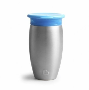Чашка-непроливайка Miracle 360 Munchkin голубой 296 мл.