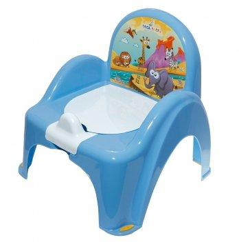 Горшок стульчик Tega baby Сафари Голубой SF-010-126