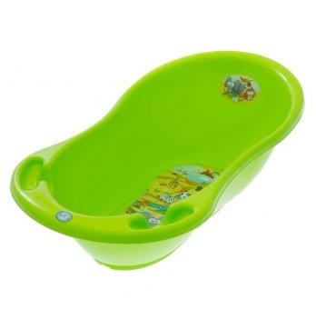 Ванночка детская с термометром Tega baby Сафари Зеленый 86 см SF-004-125