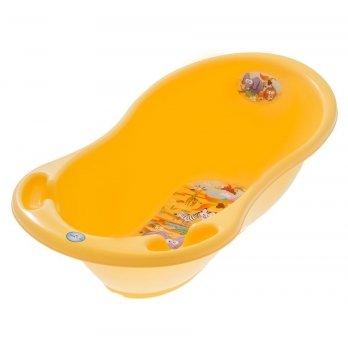 Ванночка детская с термометром Tega baby Сафари Желтый 86 см SF-004-124
