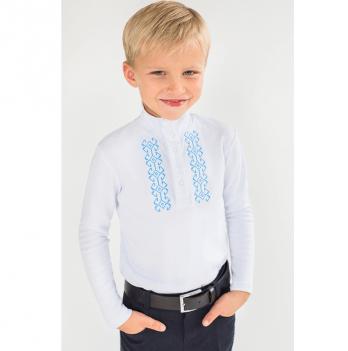 Гольф - вышиванка для мальчика Модный карапуз