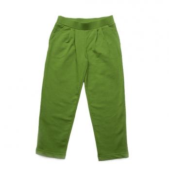 Брюки спортивные для мальчика Модный карапуз, зеленые