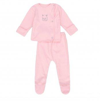 Комплект детский интерлок SeeYou 000000025 розовый