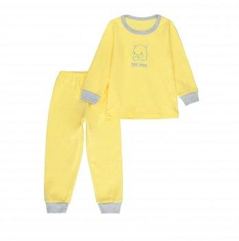 Пижама детская интерлок SeeYou 000000014 желтый