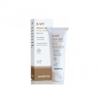 Очищающий гель Sesderma K-Vit Clarifying Cream, 50 мл