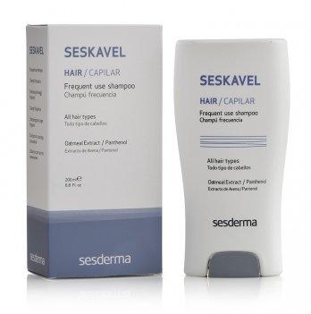 Шампунь для частого использования Sesderma Seskavel Frequent Shampoo, 200 мл
