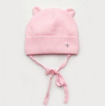 Шапка с ушками детская Модный карапуз 44-46 Розовый 03-00929