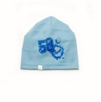 Шапка для мальчика Модный карапуз Голубой 03-00725