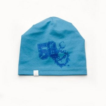 Шапка для мальчика Модный карапуз Синий 03-00725