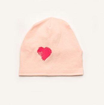 Шапка для девочки Модный карапуз Розовый 03-00725