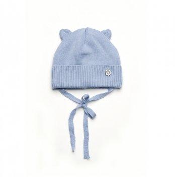 Шапка демисезонная для мальчика Модный карапуз Голубой 03-00928