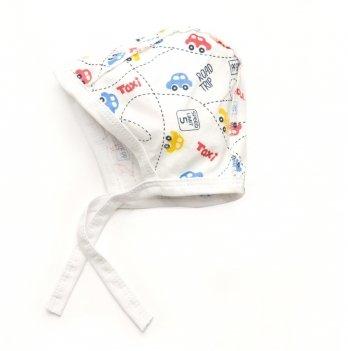 Шапочка для младенца Модный карапуз Машинки 303-00026