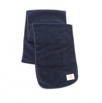 Шарф флисовый Модный карапуз Темно-синий 03-00545 18х165 см