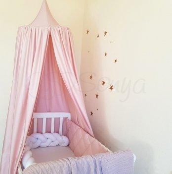 Шатер - балдахин Маленькая Соня на детскую кроватку Маленькая Соня 860079 пудровый