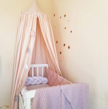 Шатер - балдахин Маленькая Соня на детскую кроватку Маленькая Соня 860002 бежевый