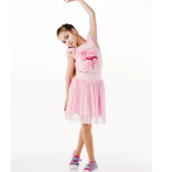 Юбка для девочки Smil от 7 до 10 лет розовая