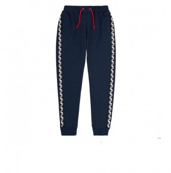 Штаны для мальчика Bembi Синий меланж Трикотаж ШР602