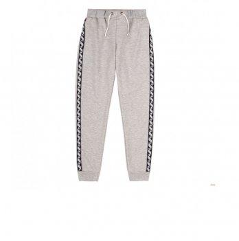 Штаны для мальчика Bembi Серый меланж Трикотаж ШР602