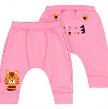 Штанишки для девочки Bembi Розовый Интерлок ШР609