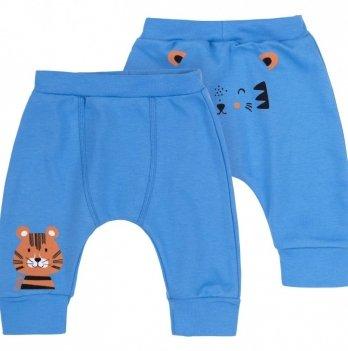 Штанишки для мальчика Bembi Голубой Интерлок ШР609