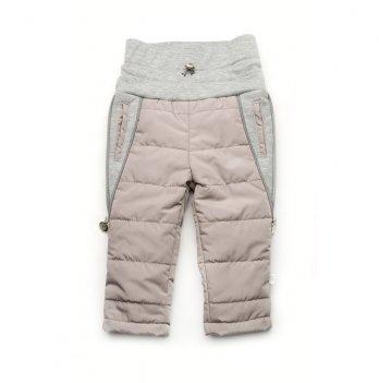 Штаны для малышей Модный карапуз Серый 03-00840