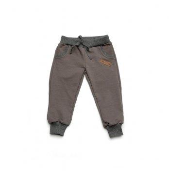 Спортивные штаны детские Модный карапуз Серый 03-00899