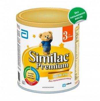 Заменитель грудного молока Abbott Labaratories Similac Премиум 3, 900г