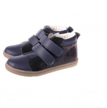 Ботинки демисезонные Mrugala синие с черным